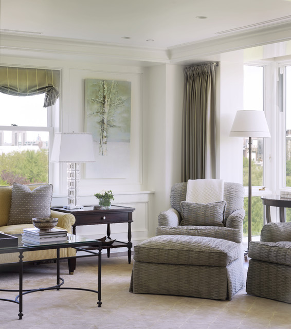 Back Bay Pied-A-Terre traditional-living-room
