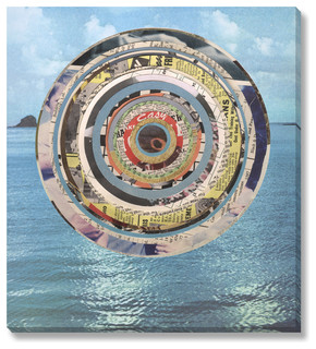 Laurie McCall 'Sea' Gallery Wrapped Canvas, Small