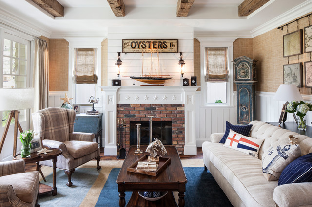 cape cod decorating style living room | Conceptstructuresllc.com