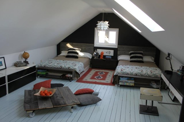 Tween Boys Attic Room Eclectic Kids Ottawa By The Style Counsel