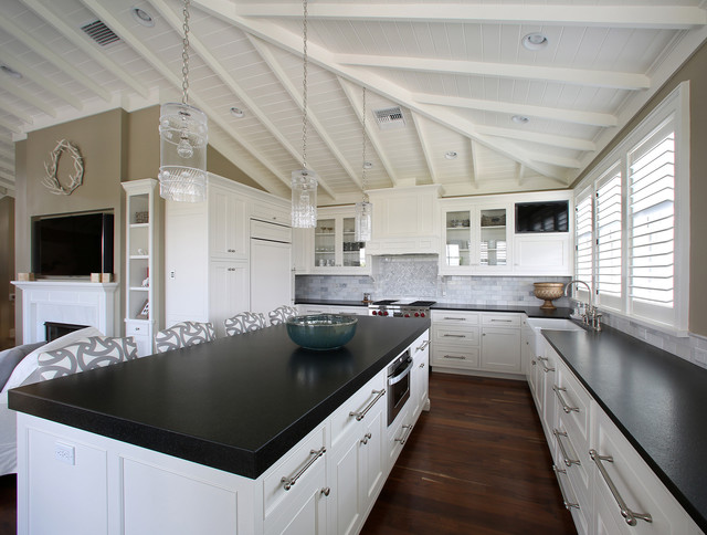 West Indies Residence Tropical Kitchen Tampa By E