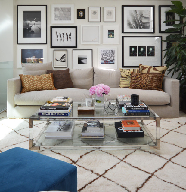 glass coffee tables that can make a room