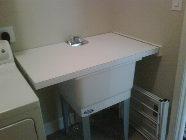 Laundry Room Fold Down Table