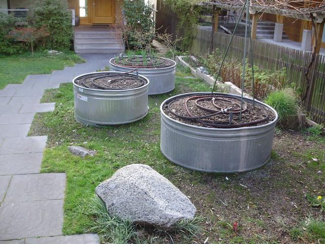 Corrugated Metal Raised Garden Beds