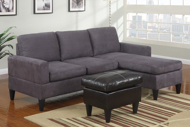 Small Sectional Sofa With Chaise Roselawnlutheran : sectional with chaise and ottoman - Sectionals, Sofas & Couches