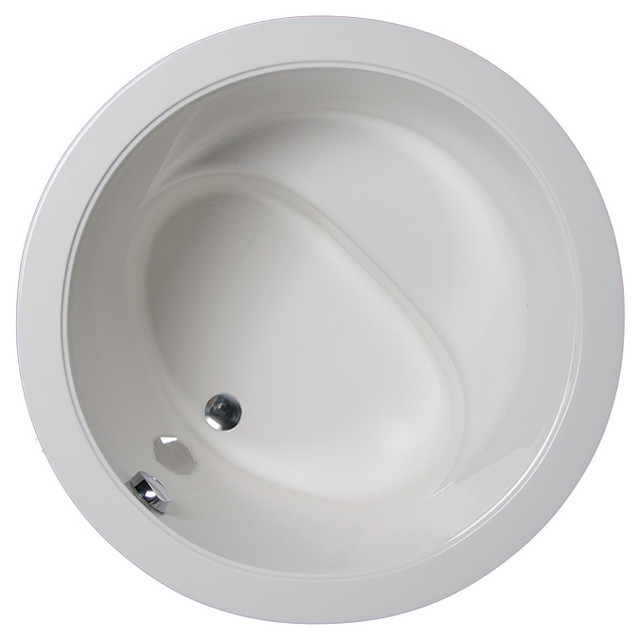 Beverly 4242 Round Tub Only Contemporary Bathtubs By