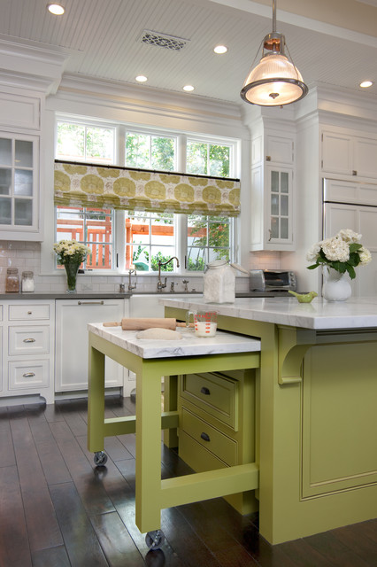 West Coast Hamptons traditional-kitchen