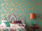tropical-bedroom How to Use a Headboard for Decorative Impact  Upholstery in Clapham Junction