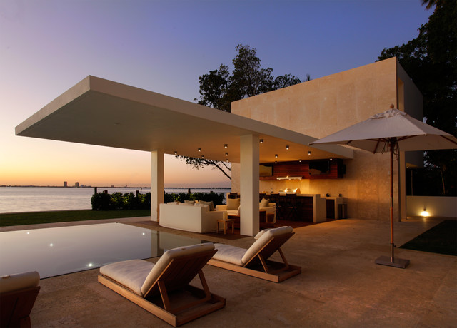 Private Residence North Beach - Miami moderne-terrasse-et-patio