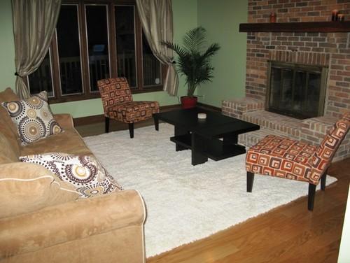 How To Arrange Furniture Around Fireplace And Corner TV