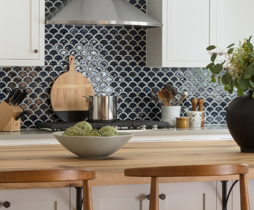 mermaid and fish scale tile ideas for