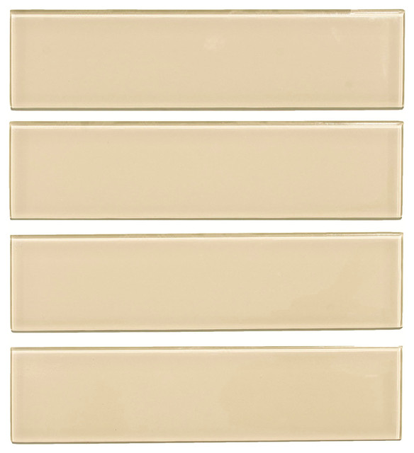 3 x12 glass subway tile oracle collection tan subway tile set of 5