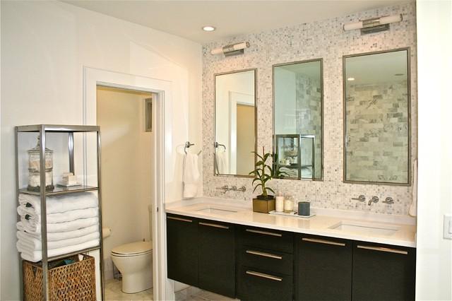 Mid Century Ranch Master Bath Midcentury Bathroom