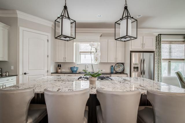 Weddington, NC- Open Concept Floor Plan- Kitchen, Dining