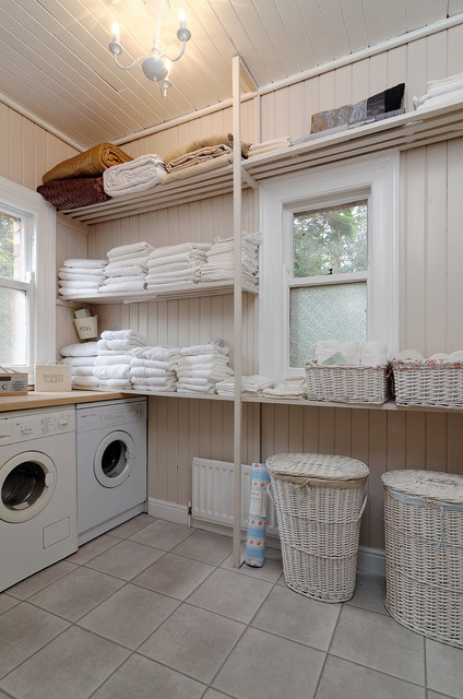 House On Kings Traditional Utility Room Belfast By