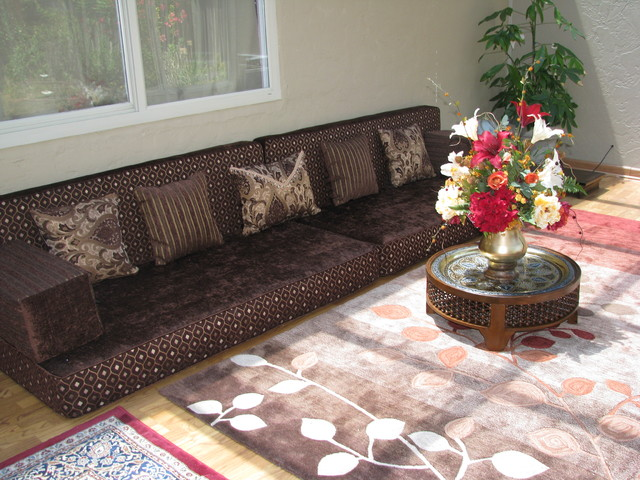 Majlis Design Floor Seating Traditional