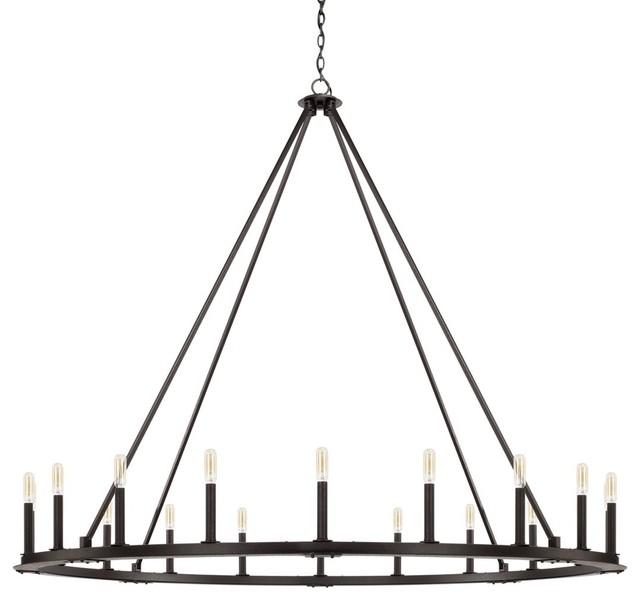 capital lighting pearson 20 light chandelier 4913bi black iron