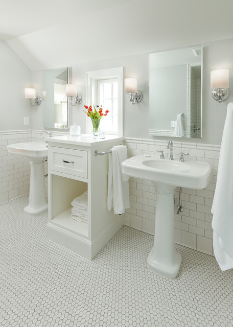 Edina Colonial Revival traditional-bathroom