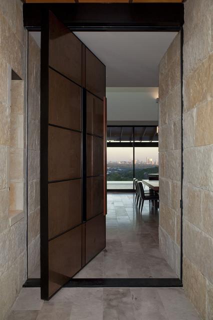 custom-design contemporary front door