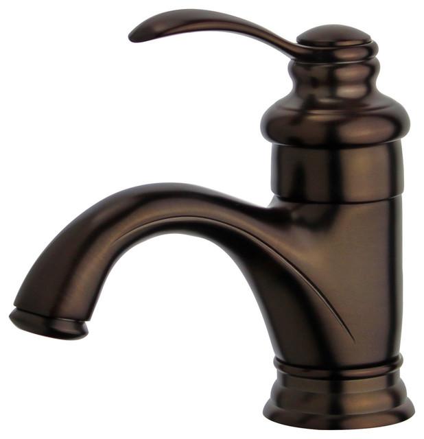 barcelona single handle bathroom vanity faucet oil rubbed bronze