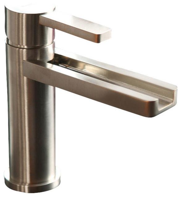 waterfall bathroom faucet - contemporary - bathroom sink faucets