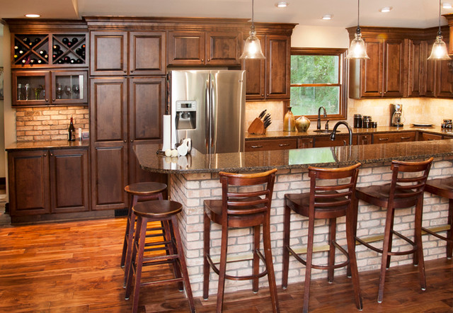 Koch Cabinets Traditional Kitchen