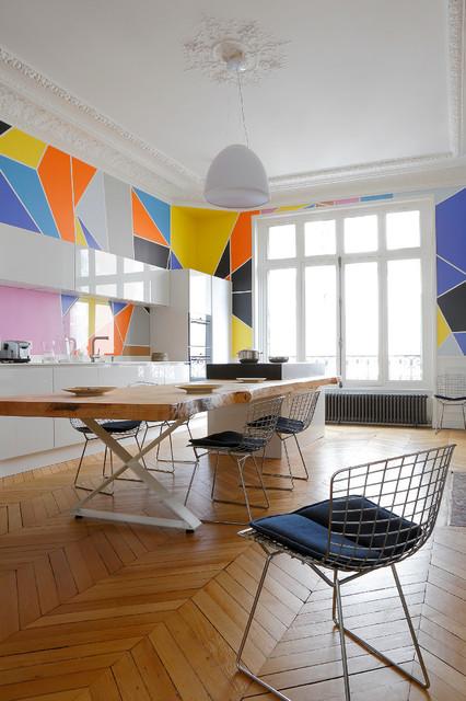 Appartement XI contemporaneo-sala-da-pranzo