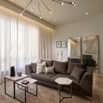 75 Beautiful Marble Floor Living Room With A Wall Mounted Tv Pictures Ideas December 2020 Houzz