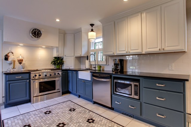 1920s House In Belmont Area Traditional Kitchen