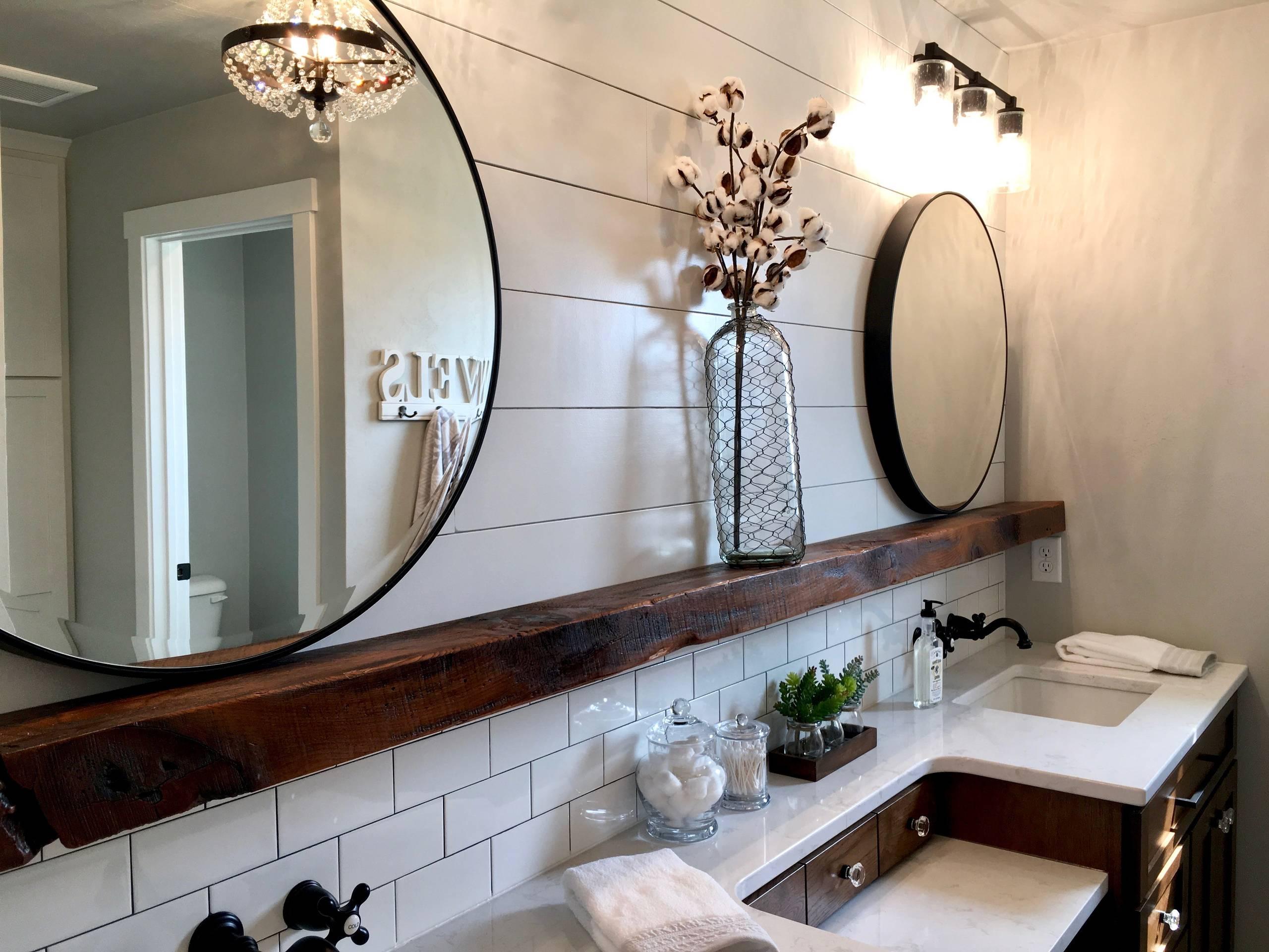 75 Beautiful Farmhouse Bathroom Ideas Pictures Houzz