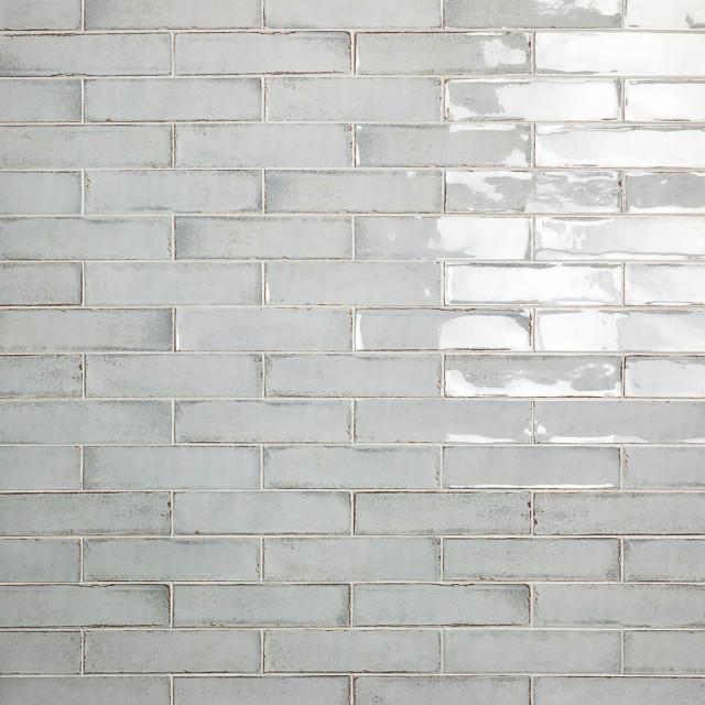 moze 3 x12 ceramic subway tile gray