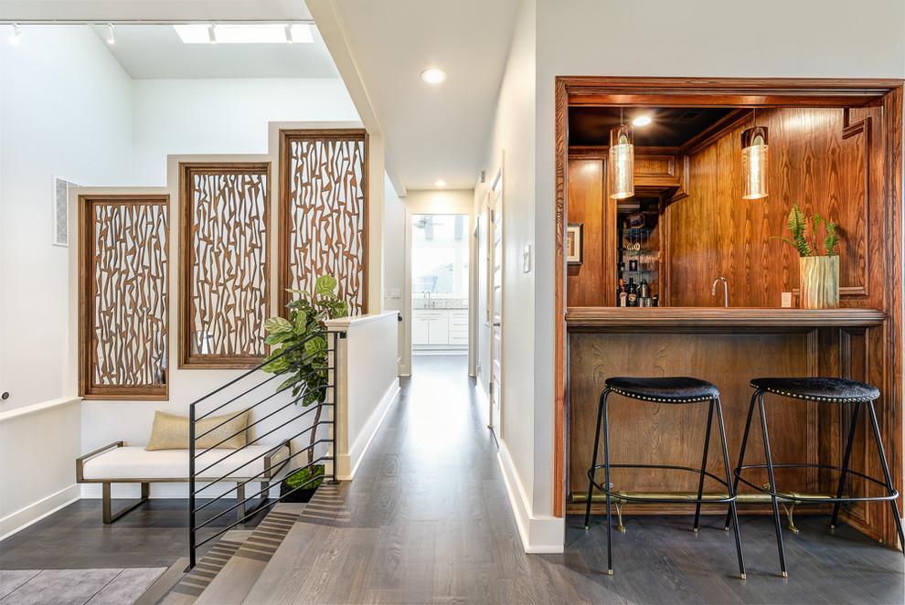 Austin Barton Hills - Modern - Home Bar - Austin - by ...