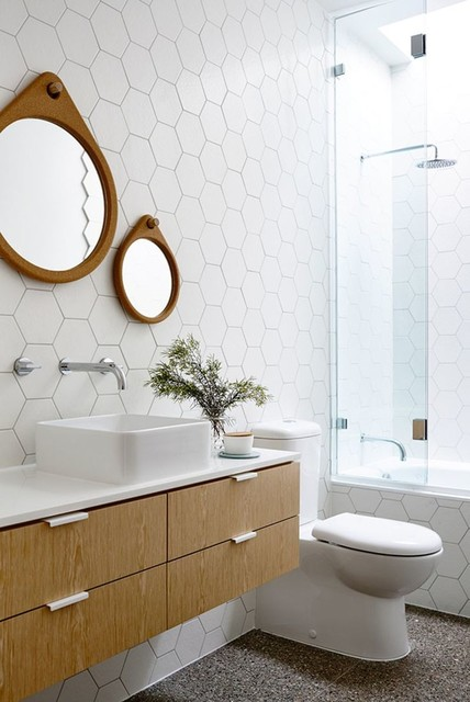 hexagon tiles go big and bold in the