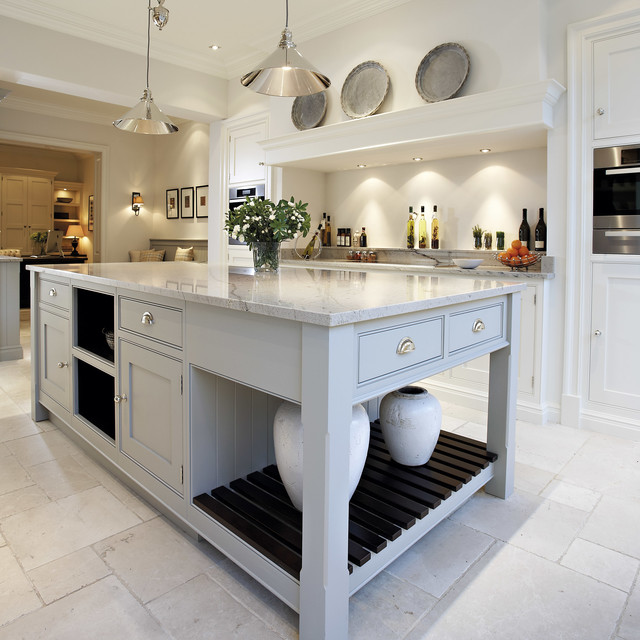 Contemporary Shaker Kitchen kitchen