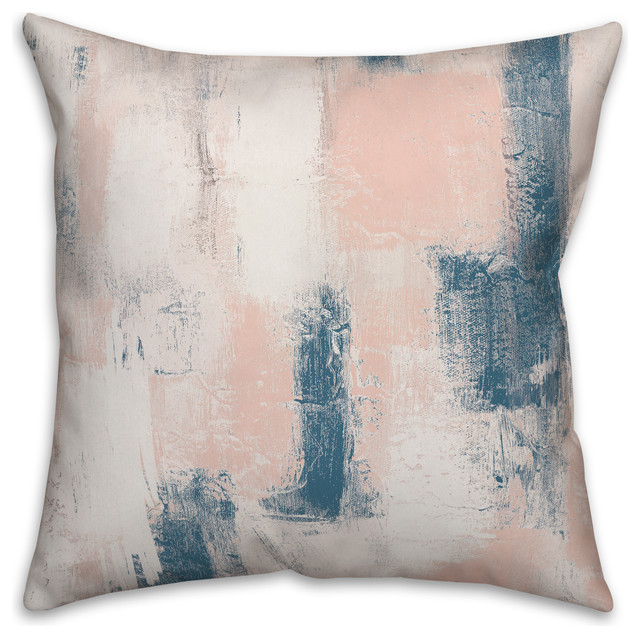 blush and navy pillows online
