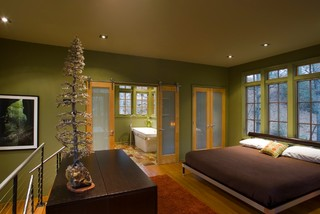 Treehouse contemporary-bedroom