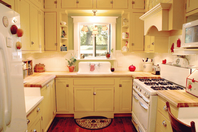 Turn Of The Century Style Kitchen Remodel Farmhouse
