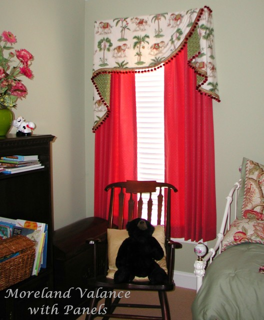 board mounted valances - eclectic - bedroom - other - by the