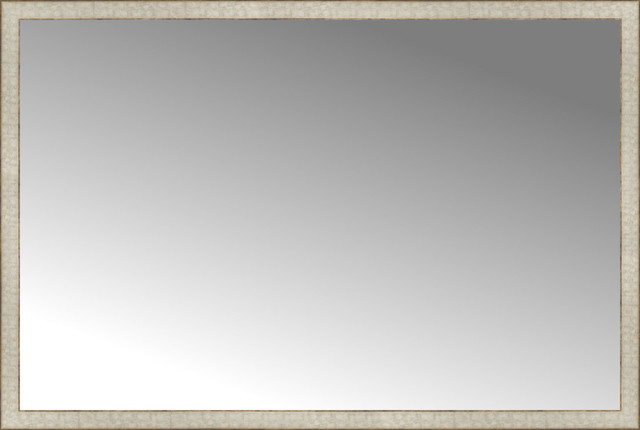 """64""""x43"""" Custom Framed Mirror"""
