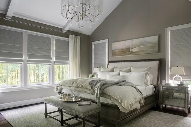 Spa Master Bedroom Transitional Bedroom New York