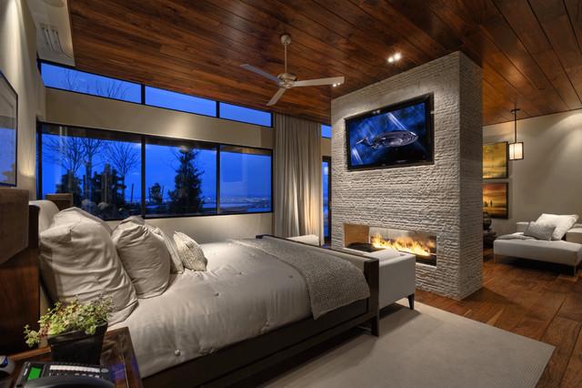 bedroom fireplace | houzz