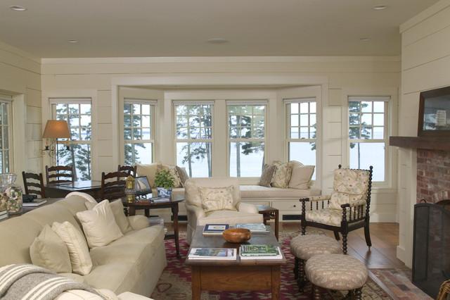 Seat Building Bay Window