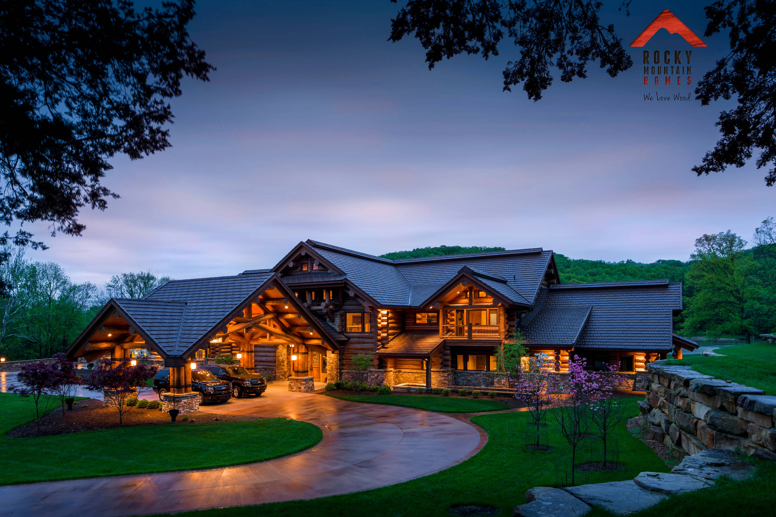 lodge style living rocky mountain