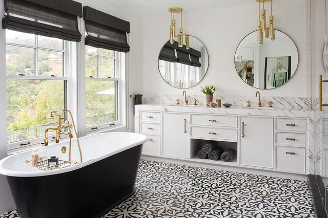favorite bathroom floor tiles