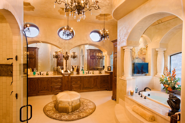 Luxury Bathrooms mediterranean-bathroom