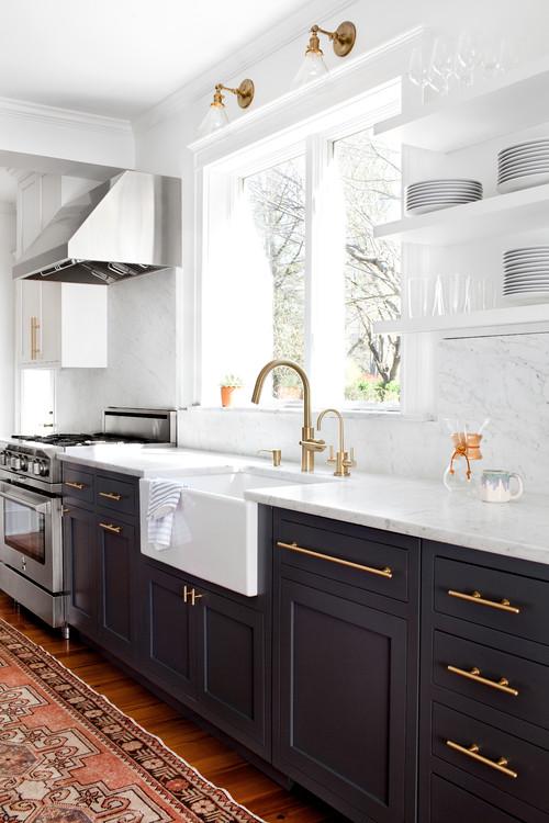 Good Gold Kitchen Hardware From Elizabeth Lawson Design