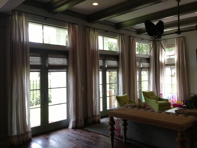 Drapery Ideas Contemporary Window Treatments Tampa By Curtain Pros