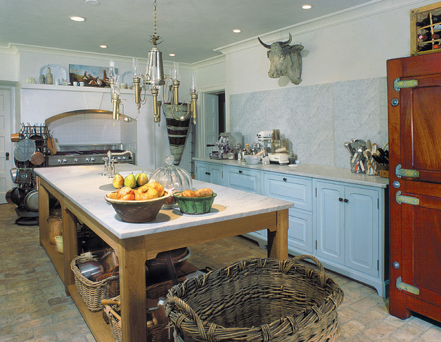 French Country Farmhouse Kitchen Philadelphia By