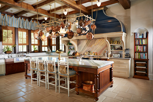 The Country Mansion Traditional Kitchen Tampa By