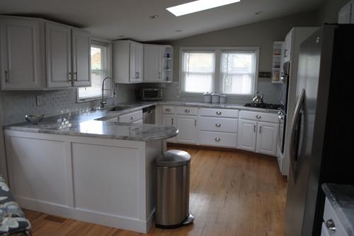 Making An Oak Kitchen White Our Updated Kitchen